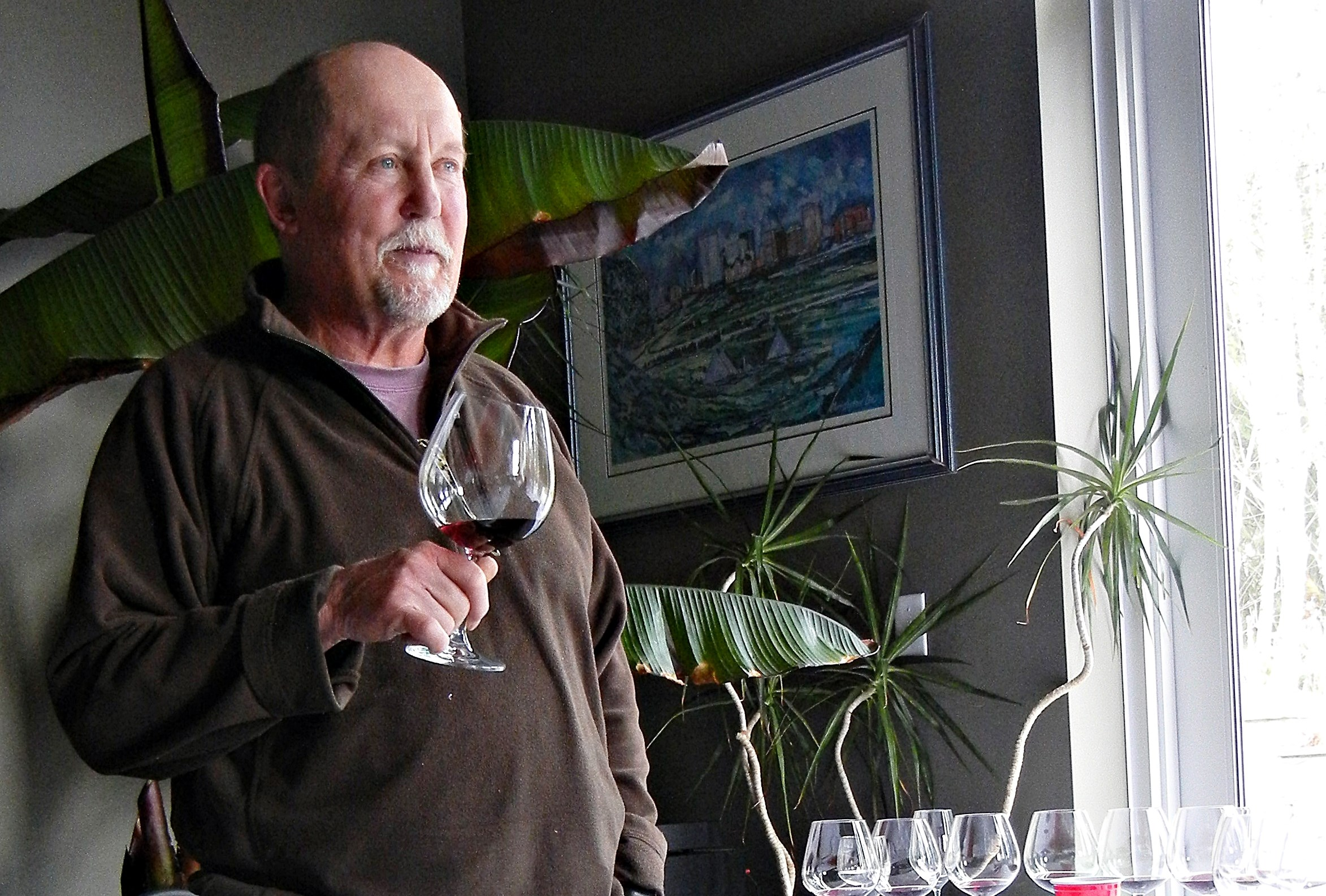 Andy Johnston At Averill Creek Pinot Noir Vertical Tasting