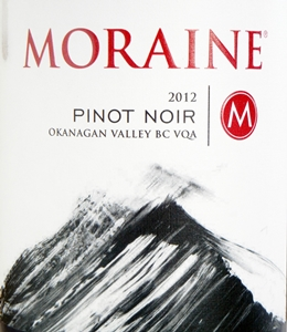 Moraine Pinot Noir 2012 Label - BC Pinot Noir Tasting Review 19
