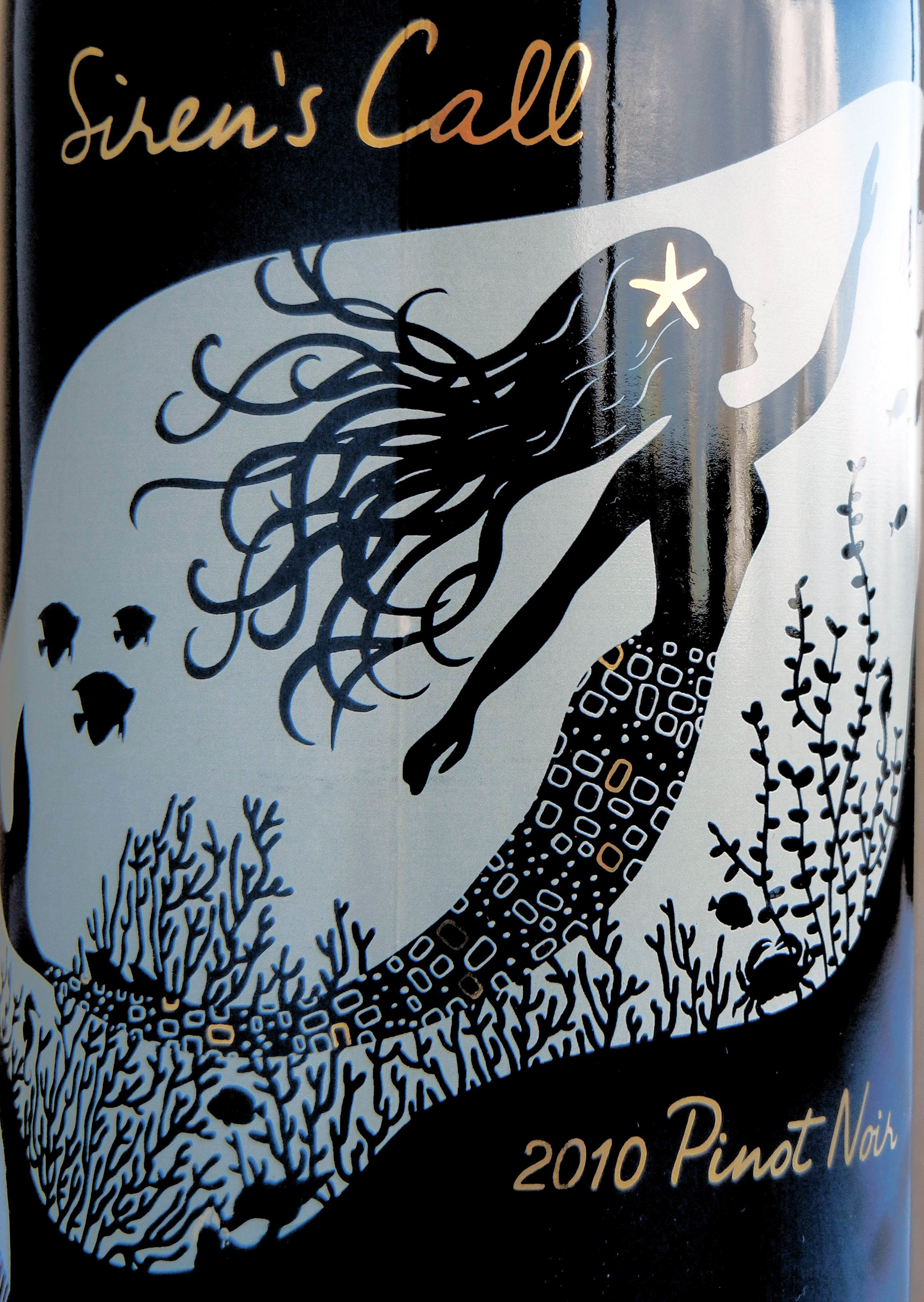 Siren's Call Pinot Noir 2010 Label - BC Pinot Noir Tasting Review 20