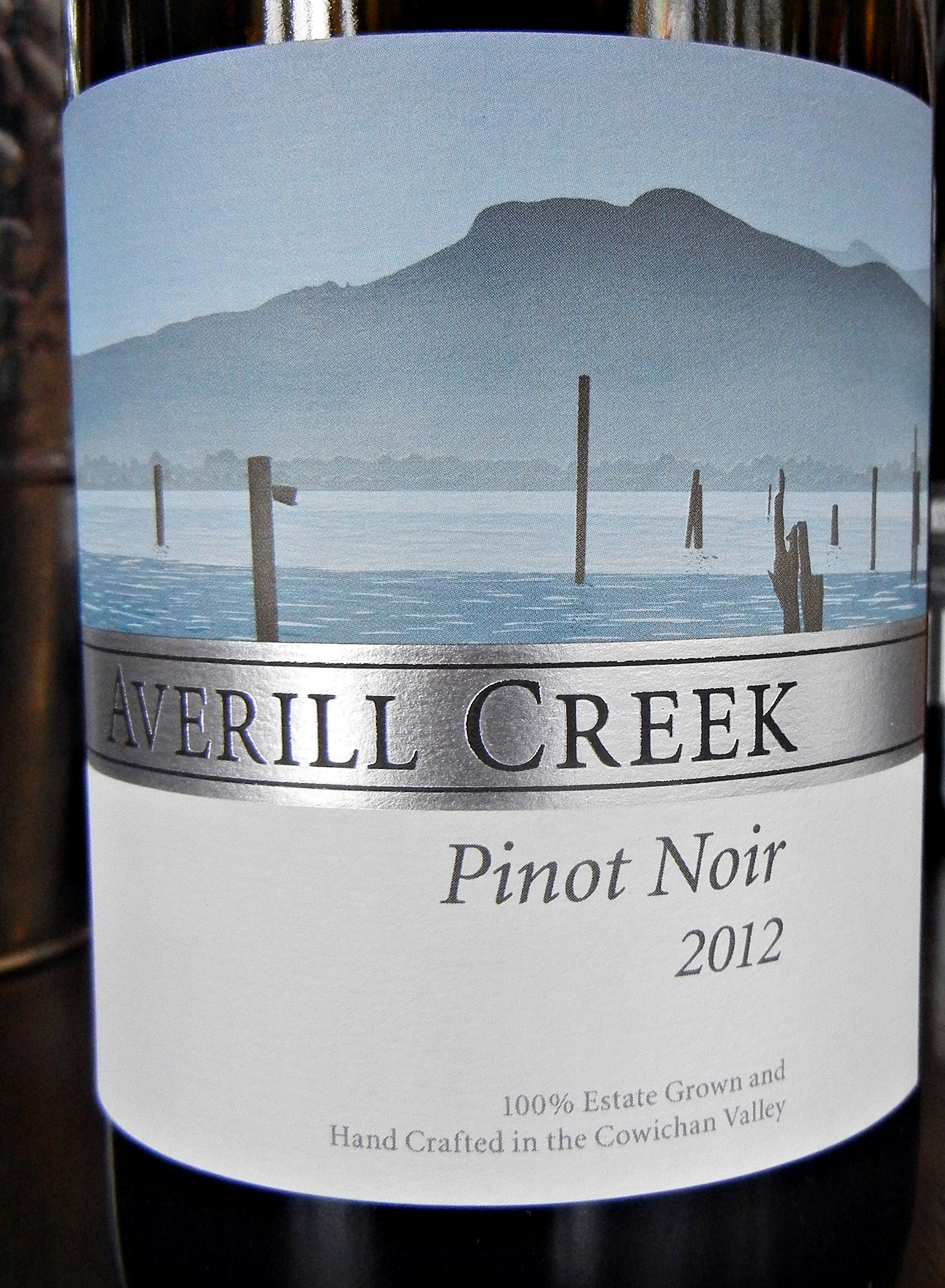 Averill Creek Pinot Noir 2012 Label - BC Pinot Noir Tasting Review 24
