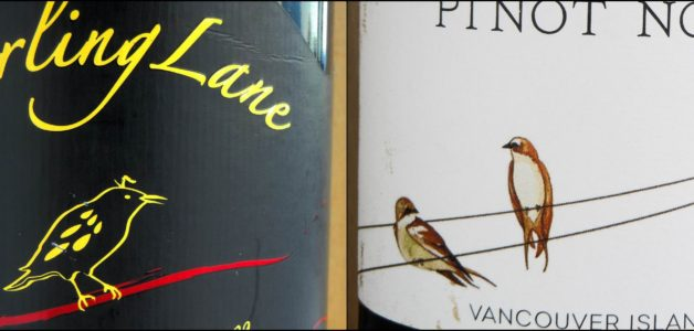 Starling Lane & 40 Knots Pinot Noir 2009 Label Details